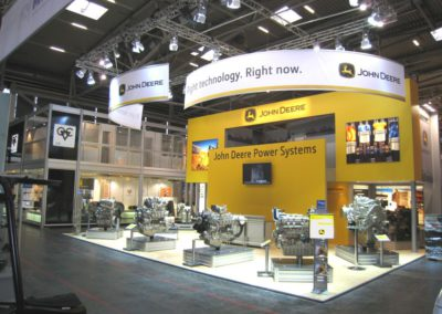 Messestand John Deere Power Systems
