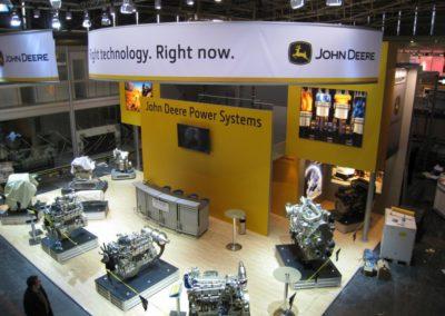 Messestand John Deere Power Systems